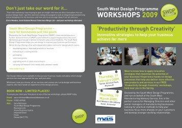WORKSHOPS 2009 - SWMAS