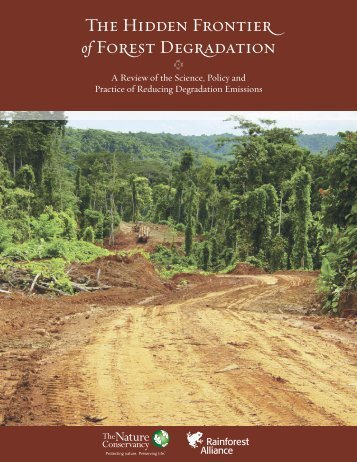 [C] The Hidden Frontier of Forest Degradation - Rainforest Alliance