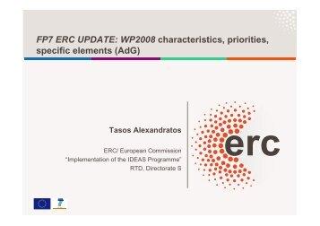 ERC - RTD