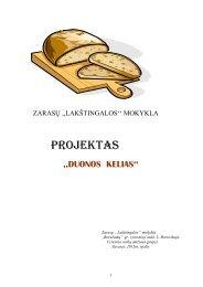 """Projektas """"Duonos kelias"""" - Vilniaus lietuvių namai"""