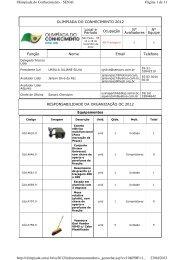 Página 1 de 11 Olimpiada do Conhecimento - SENAI 23/04/2013 ...