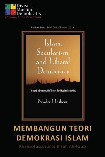 MEMBANGUN TEORI DEMOKRASI ISLAM