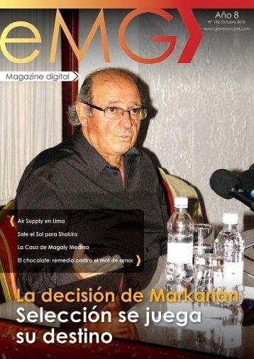 Selección se juega su destino - Generaccion.com