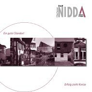 Ein guter Standort Erfolg zieht Kreise - Nidda