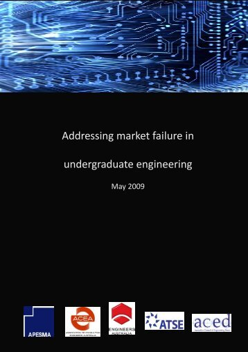Addressing market failure in undergraduate engineering - ANET ...