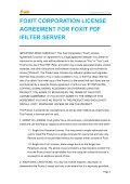 Foxit PDF IFilter 3.0 for Server User Manual - Page 5