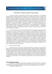 ESTRATEGIA A MEDIO PLAZO DEL STDF (2012-2016) 1. La ...