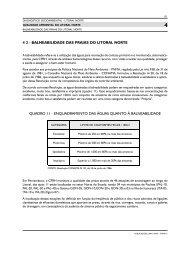 4 2 - BALNEABILIDADE DAS PRAIAS DO LITORAL NORTE ... - CPRH