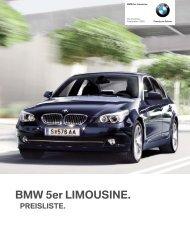 BMW 5er-Reihe Limousine - BMW.com