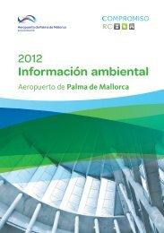 Programa de gestión ambiental 2012 - Aena Aeropuertos