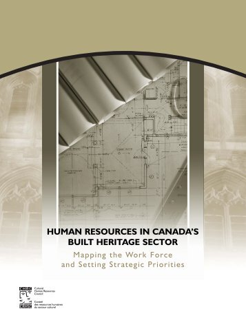 Human Resources in Canada's Built Heritage Sector: Mapping the ...