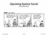 Operating System Kernel - 6.004