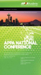 Conference Brochure - American Public Power Association