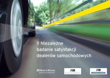 II Niezależne badanie satysfakcji dealerów samochodowych