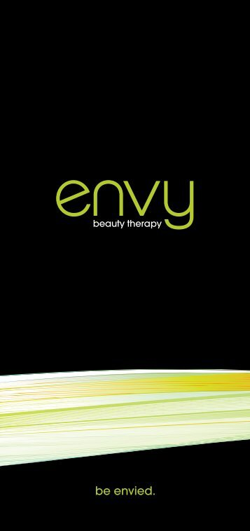 be envied. - Envy Beauty Therapy