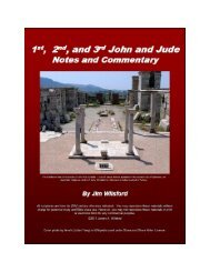 Notes and Commentary PDF - Gospel Lessons
