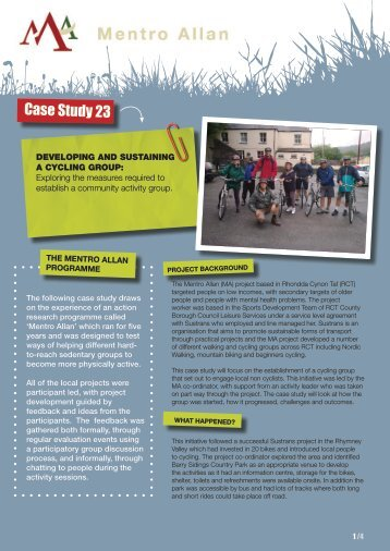 Case Study 23 - Sport Wales
