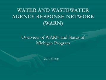 warn - Michigan Water Environment Association