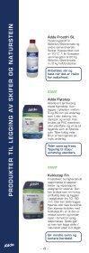 legging av skifer og naturstein utendørs - ADDA Byggkjemi AS - Page 4
