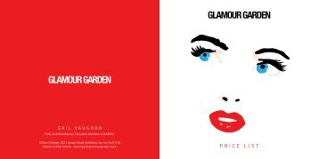 GLAMOUR & MAkE Up - Glamour Garden
