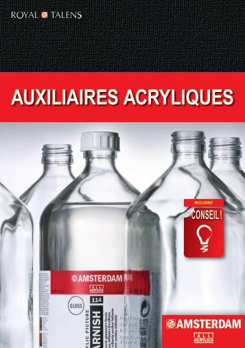 AUXILIAIRES ACRYLIQUES