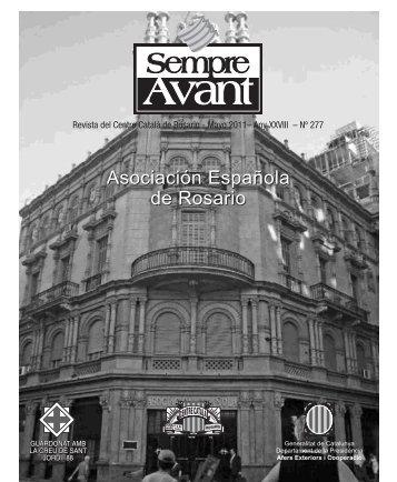 Mayo 2011 - Centre Català de Rosario