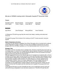 SRNSG Minutes of meeting held in December 08 - The Scottish ...