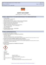 SAFETY DATA SHEET - Simpson Strong-Tie