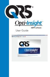 Opti-Insight™ User Guide - English - QRS Diagnostic