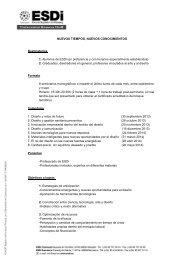 Seminario Nuevos tiempos, nuevos conocimientos.pdf - ESDi