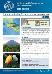 Costa Rica Surf & Volcanoes - Adventure Holidays