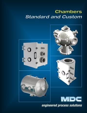 Standard Chambers Brochure - MDC Vacuum Products Corporation
