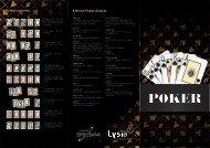 Poker - Casino Schleswig-Holstein