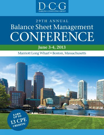 Download the 2013 Conference brochure - Darling Consulting Group