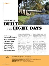 Precast Bridge Built in only Eight Days - Aspire - The Concrete ...