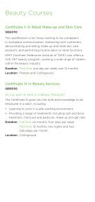 Hair and Beauty Courses - NMIT - Page 2