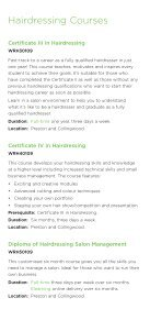 Hair and Beauty Courses - NMIT - Page 5