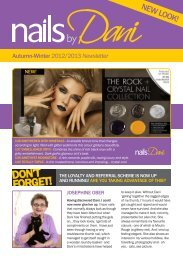 Autumn-Winter 2012/2013 Newsletter - Nails by Dani
