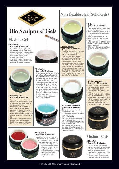 Bio Sculpture® Gels - Biosculpture Gel