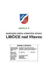Změna č. 4-2013 - Libčice nad Vltavou