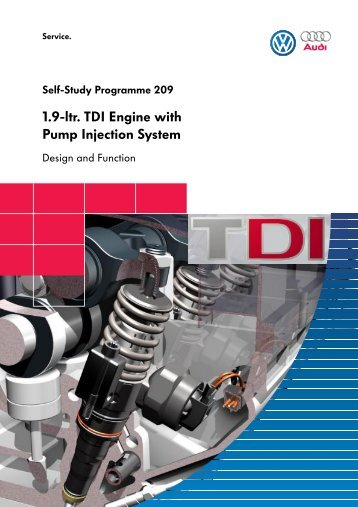 1.9-ltr. TDI Engine with Pump Injection System - Volkswagen ...