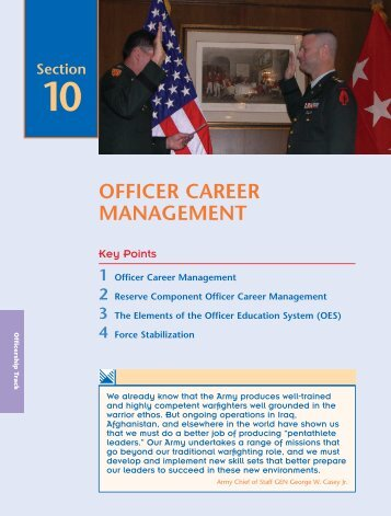 Officer Career Management.pdf - UNC Charlotte Army ROTC