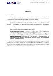 EDITAL PGE 035 - 2011_SR PINHEIROS_ - Caixa Econômica Federal