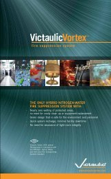 the only hybrid nitrogen-water fire suppression system with - Victaulic