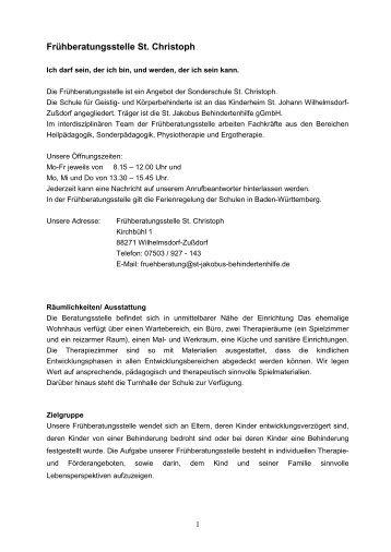Protokoll: Teambesprechung der Frühberatungsstelle am 07