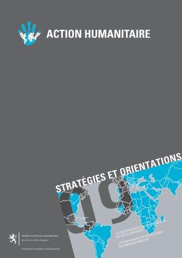 ACTION HUMANITAIRE - Ministère des affaires étrangères
