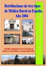 Estudio sobre las retribuciones del medico rural en España