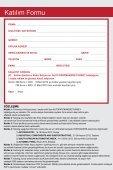 Tanıtım Broşürü ve Katılım Formu - Page 6