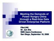 China-FibrLINK-Jun Zha.pdf - EMS Users Conference