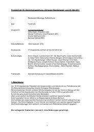 55. GV Protokoll Schwyz Schwyzer Wanderwege